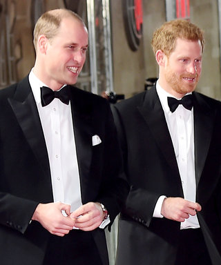 Princes William and Harry Went to the Star Wars Premiere and Met All Your Favourite Characters
