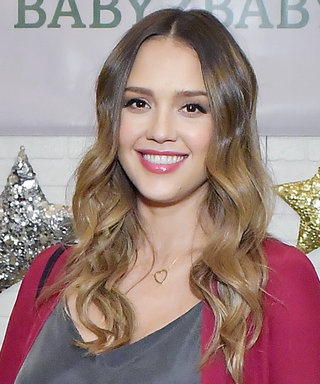 Jessica Alba Demos How to Modestly Wear the Lingerie-Inspired Trend