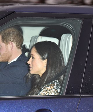 Meghan Markle And Prince Harry Head To The Queen's Christmas Lunch