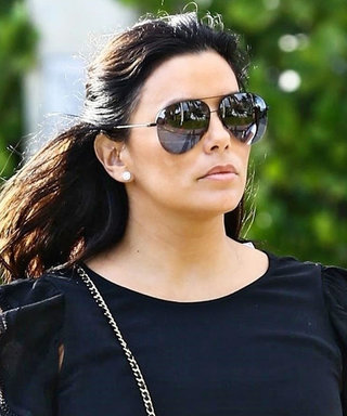 Eva Longoria Is Already Winning the Maternity Style Game in a Chic LBD