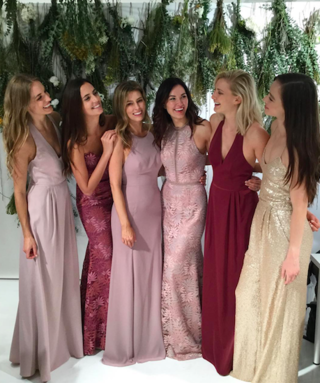 This Colour Is Set To Be Huge For Bridesmaid Dresses In 2018
