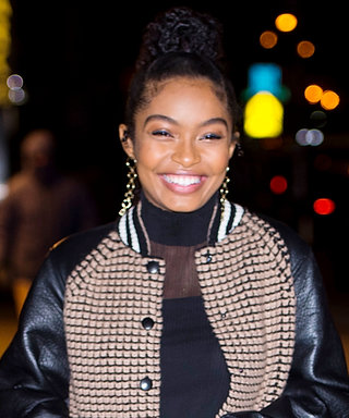 Yara Shahidi Demos the Easiest Way to Master the Trickiest Winter Trend