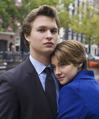 Shailene Woodley and Ansel Elgort Had the Cutest Reunion at the Golden Globes