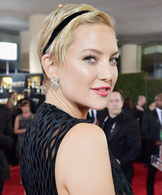 "Kate Hudson Recalls Getting ""Really Drunk"" After Her Golden Globes Win"