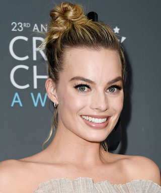 Daily Beauty Buzz: Margot Robbie's Messy Topknot