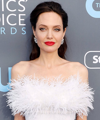 Angleina Jolie Literally Looks Like an Angel at the Critics Choice Awards