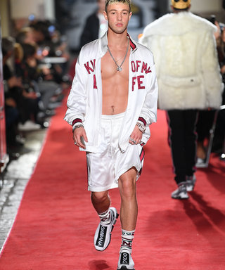 Dolce & Gabbana's Runway Featured All The Hot Men You Need To Follow NOW