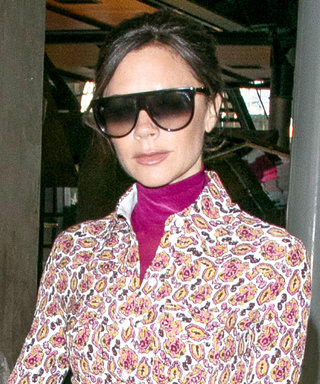 Victoria Beckham Gives a Chic Lesson in Wearing Maxi Dresses for Winter
