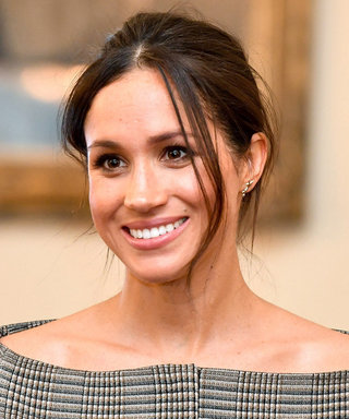 Meghan Markle Lets Her Collarbones Breathe