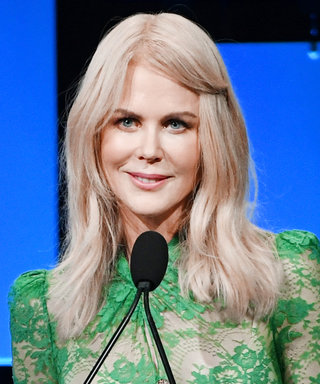 Nicole Kidman Broke Her Own Style Tradition in a Long Emerald See-Through Dress