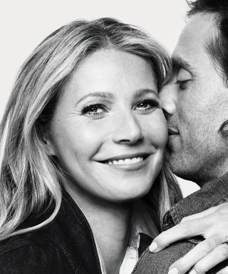 A Close-Up of Gwyneth Paltrow's Gigantic Engagement Ring from Brad Falchuk