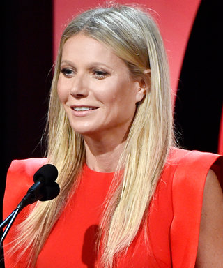Gwyneth Paltrow Displays Her Sparkling Engagement IRL at the Producers Guild Awards
