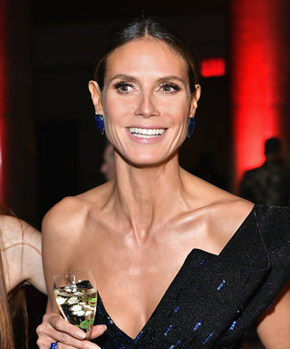 Heidi Klum Pulls an Angelina Jolie at amfAR Gala with the Ultimate Leg-Baring Look