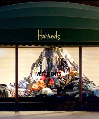 Vetements & Harrods Join Forces To Raise Awareness of Overproduction In The Fashion Industry