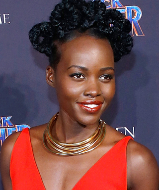 Lupita Nyong'o Demos the Chic Color That Flatters Every Skin Tone