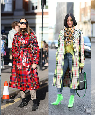 The One Coat That Was Everywhere This London Fashion Week