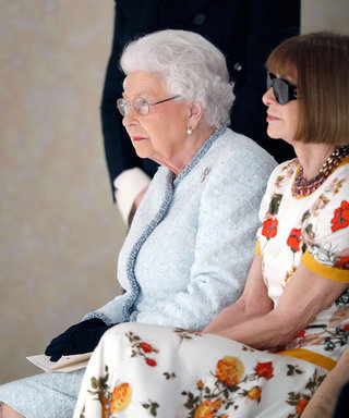 Her Royal FROWness: The Queen Just Hit London Fashion Week & The Internet Exploded