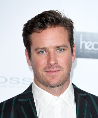 Armie Hammer Is Prepping for the Oscars in the Most Bizarre Way