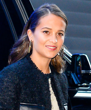 We're Obsessing Over Alicia Vikander's Jacket