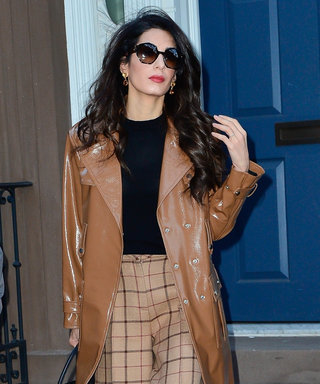 Amal Clooney Shows Us the One Trick That Makes Getting Dressed for Work Easier
