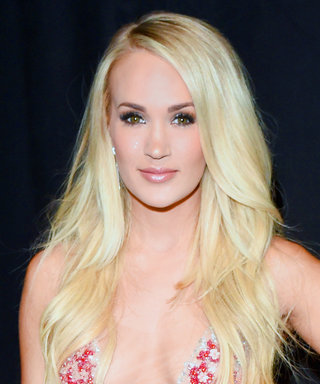 Carrie Underwood Hits the ACM Awards in the Prettiest Naked Dress