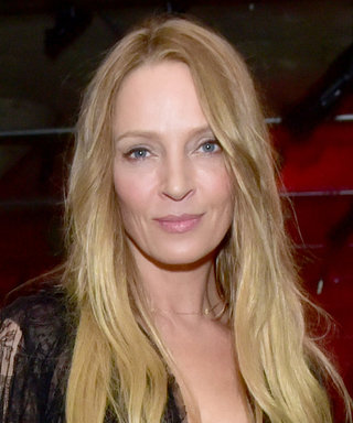 Uma Thurman Brought Her Look-Alike Son as Her Date to Prada's Resort Fashion Show