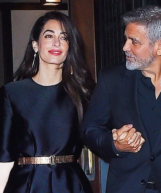Amal Clooney's Unexpected Date-Night Outfit Is Totally Worth Copying