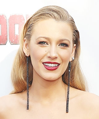 Blake Lively Brilliantly Turns Deadpool 's Costume Into a Chic Red-Carpet Look