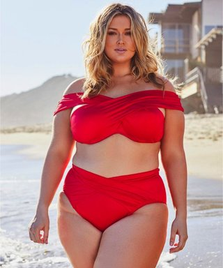 hunter mcgrady red bikini
