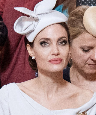 Angelina Jolie Combines Kate Middleton and Meghan Markle's Style in Her Latest Outfit