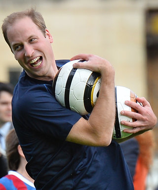 In Honor of England's World Cup Run, Here Are Silly Photos of the Royals Playing Soccer