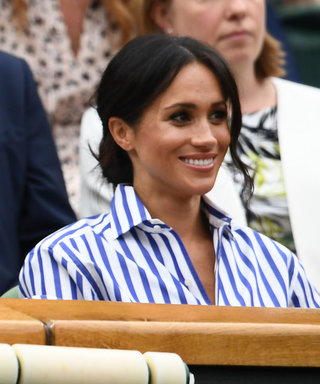 Twitter Compares Meghan Markle's Ralph Lauren Outfit to the Line Judge Uniforms at Wimbledon
