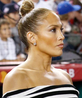 Jennifer Lopez Takes Baseball-Game Dressing to the Next Level with 5-Inch Stilettos