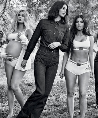 Pregnant Khloé Kardashian and Her Sisters Stripped Down for Their Latest Calvin Klein Campaign