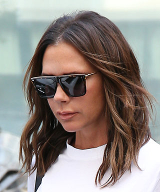 Victoria Beckham Shows Us the Stylish Way to Wear a T-Shirt This Fall