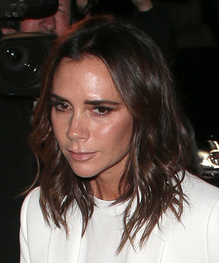 Victoria Beckham Turned a Basic T-Shirt Into a Party-Ready Outfit for London Fashion Week