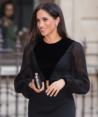 Meghan Markle's Latest Givenchy Look Featured Sheer Panels and a Leg Slit