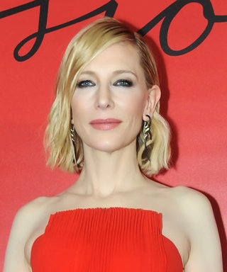 Cate Blanchett's Glamorous Red-Carpet Look Is All of the Holiday-Dressing Inspo You Need
