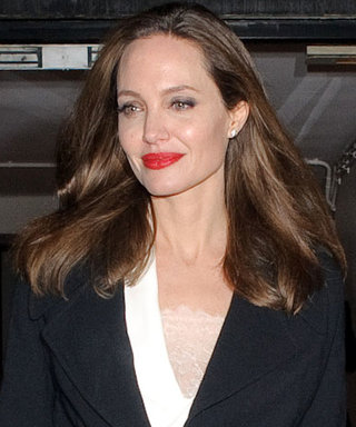 Angelina Jolie Shows Us How to Put Together a Timeless Party Outfit