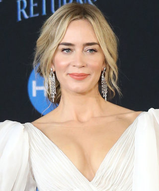 Everyone's Freaking Out Over Emily Blunt's Magical Fairytale Dress at the Mary Poppins Returns Premiere