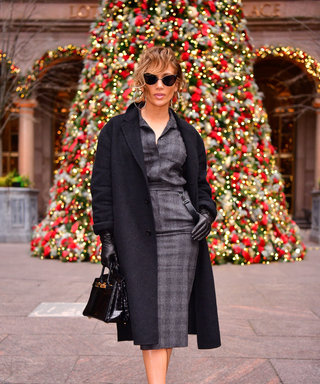 Jennifer Lopez Just Nailed Holiday Style — And Her Entire Plaid Set Is 30% Off Today