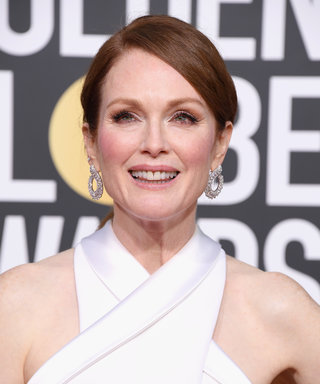 This $42 Tube Is the Secret to Julianne Moore's Doe-Eyed Golden Globes Lashes