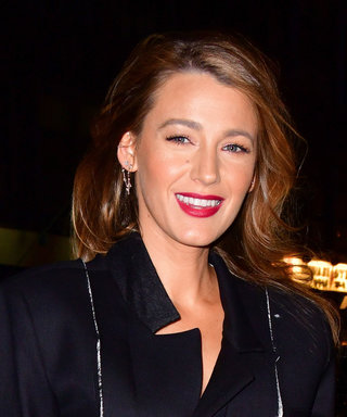 Only Blake Lively Could Make a Dress With a Huge Rip Look This Great