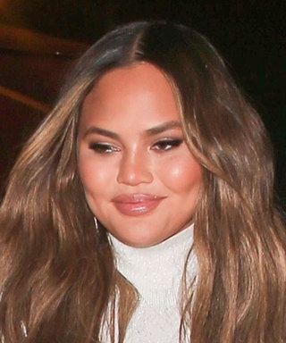 Chrissy Teigen Just Wore This Major Gym Trend With Naked Heels