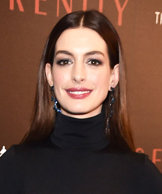 Anne Hathaway Steps Out in aFully See-Through Skirt