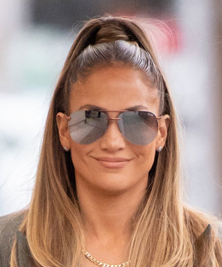 Jennifer Lopez Shows Us How to Instantly Dress Up Baggy Pants