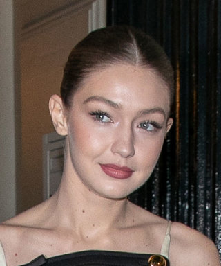 Gigi Hadid Surprisingly Paired a Short Party Dress With These Comfortable Shoes