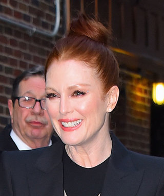 Julianne Moore Wore a Dress and a Suit at the Same Time