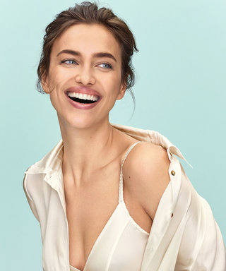 """The Comfortable Lingerie That Makes Irina Shayk Feel """"Very Sexy"""""""