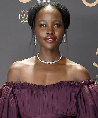 Lupita Nyong'o Proves She's the Queen of Red Carpets in a Daring, Thigh-High Slit Gown